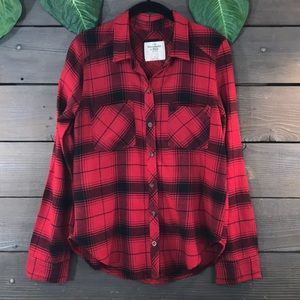 Abercrombie & Fitch Plaid Flannel